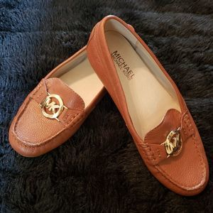 NWOT Michael Kors Leather Loafers